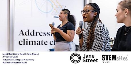 Meet the Stemettes @ Jane Street: Panel & Speed Networking Tickets