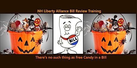 NHLA Bill Review Training tickets