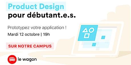 Atelier gratuit: Product Design pour débutant.e.s billets