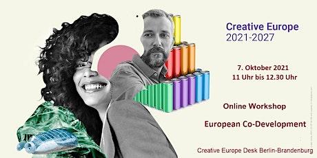 Online Workshop European Co-Development tickets