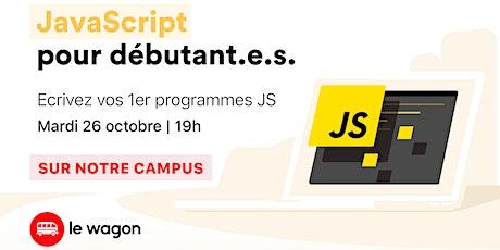 Atelier gratuit : Créez des sites web dynamiques avec Javascript ! billets