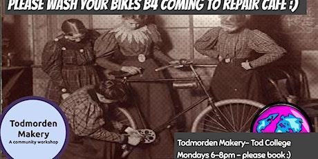 Bike Repair Monday Night 6-8pm Bookable Repair Session tickets