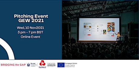 Pitching Event - In collaboration with NatWest tickets