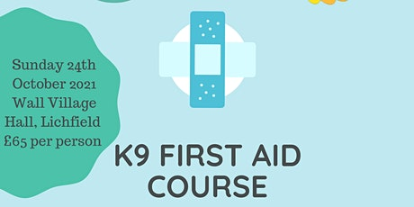 Canine First Aid Course tickets