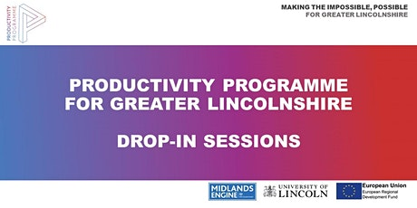 Productivity Programme Drop-in Sessions (Vouchers) tickets