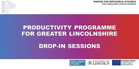 Productivity Programme Drop-in Sessions (Grants) tickets