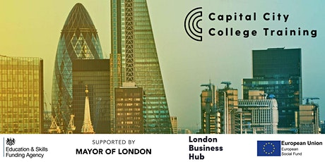 Capital City College Training ESF Programmes Information Event tickets