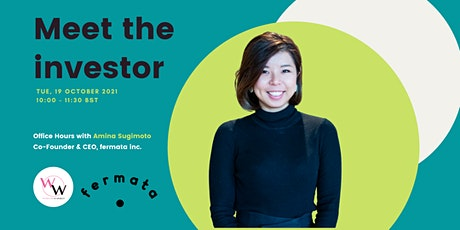 Meet the investor - Office hours with Amina Sugimoto, Fermata tickets