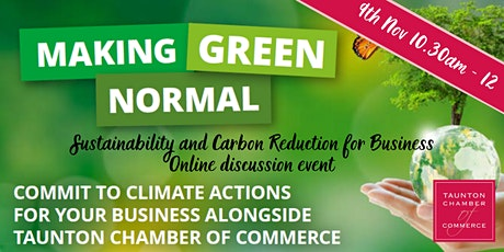 Making Green Normal Event - Sustainability & Carbon Reduction for Business tickets