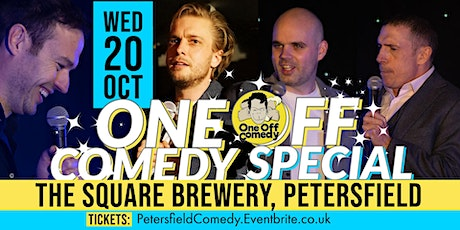 One Off Comedy Special @ The Square Brewery, Petersfield! tickets