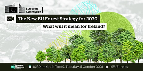 New EU Forest Strategy for 2030 tickets