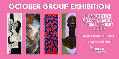 The Corner Gallery  October Group Exhibition tickets