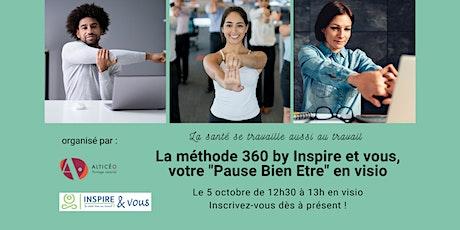 Le Yoga Corporate by Inspire et vous, votre Pause bien-être en visio billets