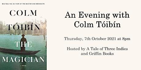 An Evening with Colm Tóibín tickets