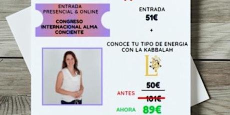 PROMOCION ESPECIAL LYDIA  CONGRESO NACIONAL ALMA CONSCIENTE entradas
