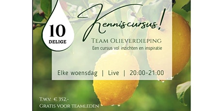 Kenniscurus - 20 oktober 2021 - Detox en afvallen tickets