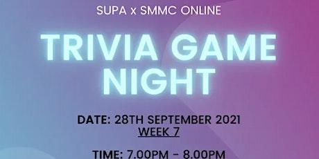 Trivia Game Night SUPA X SMMC tickets