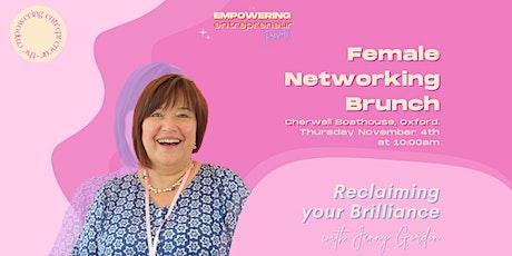 Networking Brunch - Cherwell Boathouse tickets