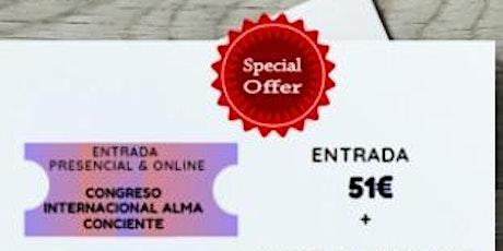 PROMOCION ESPECIAL  CONGRESO NACIONAL ALMA CONSCIENTE tickets