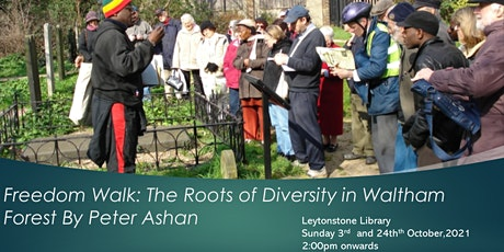 Black History Freedom Walk with Peter Ashan tickets