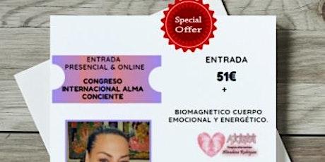 PROMOCION ESPECIAL  ALMUDENA CONGRESO NACIONAL ALMA CONSCIENTE entradas