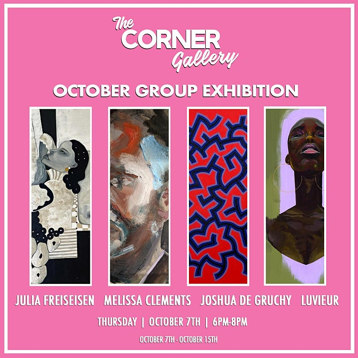 The Corner Gallery  October Group Exhibition image