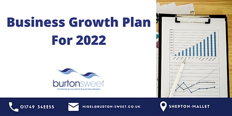 How To Create A Business Growth Plan For 2022 tickets