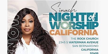SINACH- Night of Worship USA (California) tickets