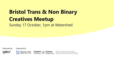 Bristol Trans + Non Binary Creatives Meetup tickets