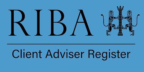 RIBA Client Adviser Annual Forum 2021 tickets