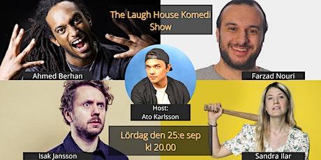 The Laugh House Ståupp Komedi 25:e september biljetter