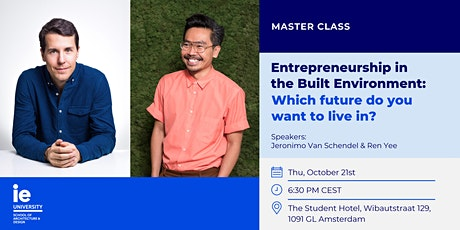 Entrepreneurship in the Built Environment: Which future do you want to live in? tickets