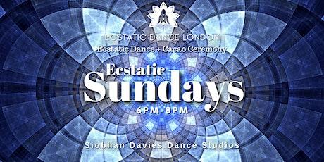 Ecstatic Sundays INDOORS @ Siobhan Davies Studio: Ecstatic Dance & Cacao tickets