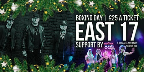 EAST 17 & Support tickets