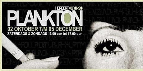 Opening expositie Plankton - Herbert Alfonso tickets