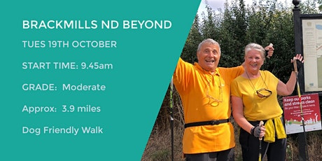 BRACKMILLS AND BEYOND | 3.9 MILES | MODERATE | NORTHANTS tickets