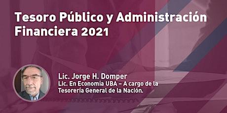 Tesoro Público y Administración Financiera 2021 entradas