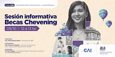 #CiclosCAI INTERNACIONALIZACION DE LA ENSEÑANZA - Sesión Informativa Becas entradas