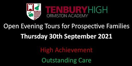 Tenbury High Ormiston Academy - Open Evening 2021 - 30th September 2021 tickets