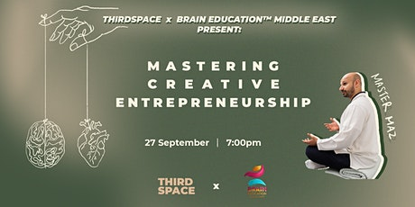 Mastering Creative Entrepreneurship tickets