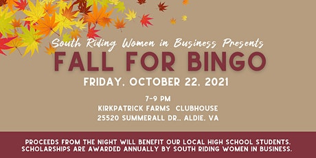South Riding Women in Business Bingo FUNdraiser tickets