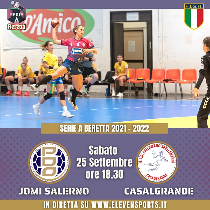 Immagine Jomi  Salerno vs Casalgrande Padana