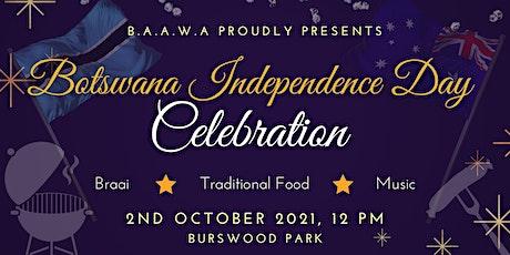 Botswana Independence Day Celebration 2021 tickets