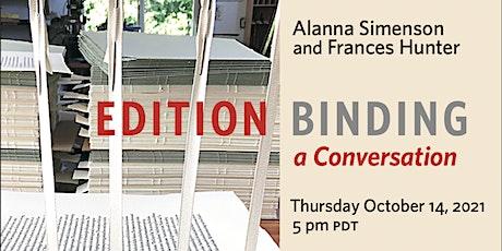 Edition Binding: a Conversation tickets