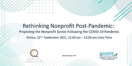 Rethinking Nonprofit Post-pandemic tickets