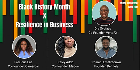 BHM x Resilience in Business tickets
