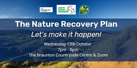 The Biosphere Nature Recovery Plan – Let's Make It Happen! tickets