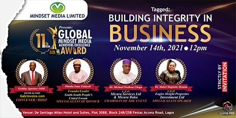 BUILDING INTEGRITY IN  BUSINESS tickets