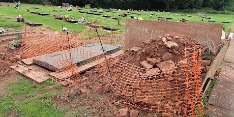 Grounds for Grave Concern: Helen Frisby & Stuart Prior on Gravedigging tickets
