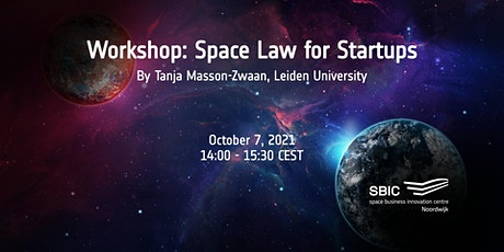 """Workshop """"Space Law for Startups"""" tickets"""